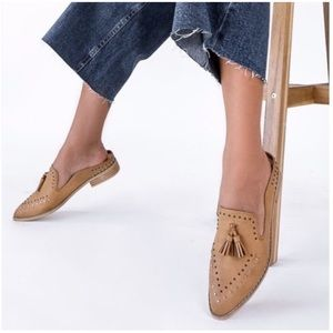 ADALINE- Studded Pointed Toe Loafers